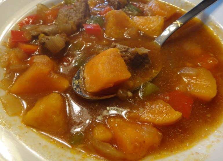 Caribbean Pepper Pot Soup