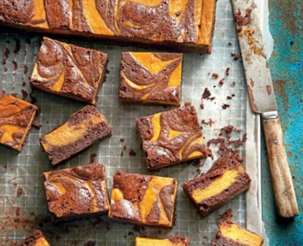 Pumpkin & Chocolate Brownies