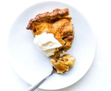 Apple–Brown Sugar Pie