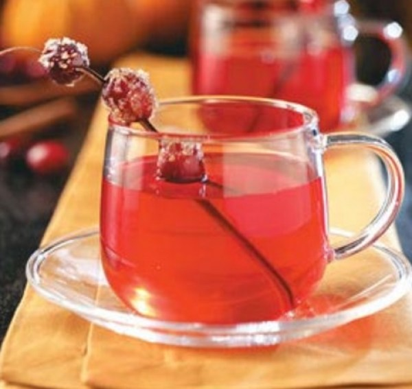 Homemade Cranberry Tea