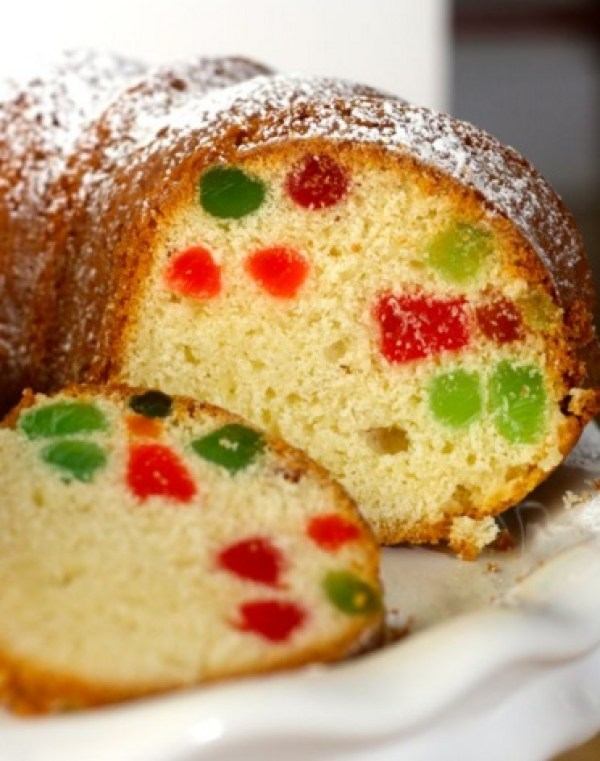 Cream Cheese Gumdrop Cake