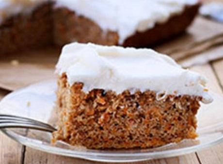 Cinnamon & Carrot Cake