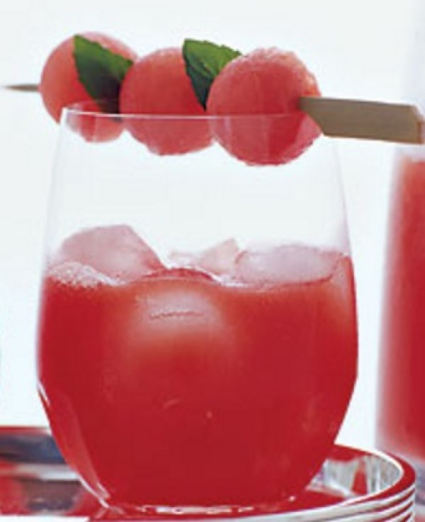 Watermelon Wine Cocktail