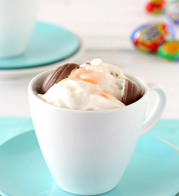 Creme Egg Hot Chocolate