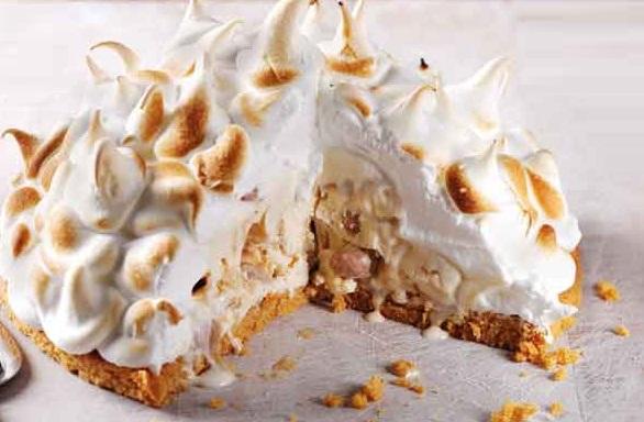 Praline & Cream Baked Alaska