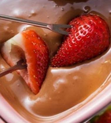 Toblerone Chocolate Fondue