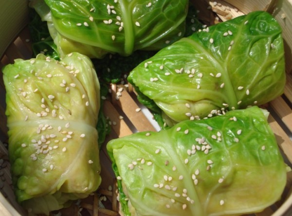 Asian Cabbage Parcels