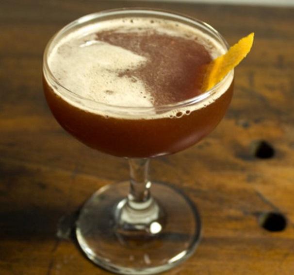 Pomegranate Molasses & Bourbon Cocktail