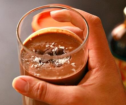 Healthy Chestnut Chocolate Smoothie