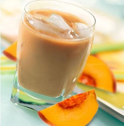 Iced Peach Melba Espresso