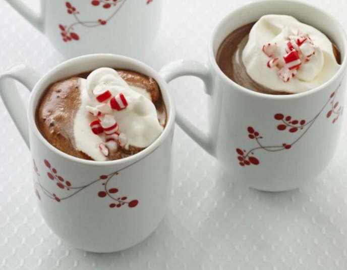 Bittersweet Chocolate and Peppermint Hot Drink