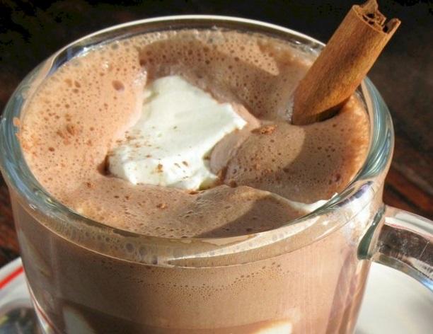 Hazelnut Bittersweet Hot Chocolate