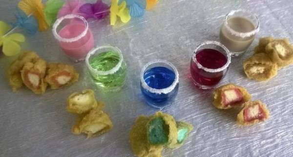 Deep-Fried Booze Shots