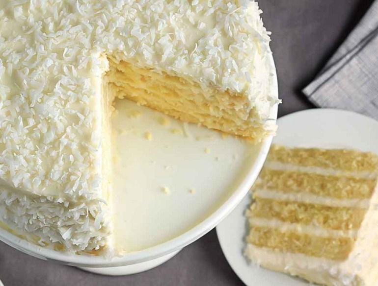 Classic Coconut Torte