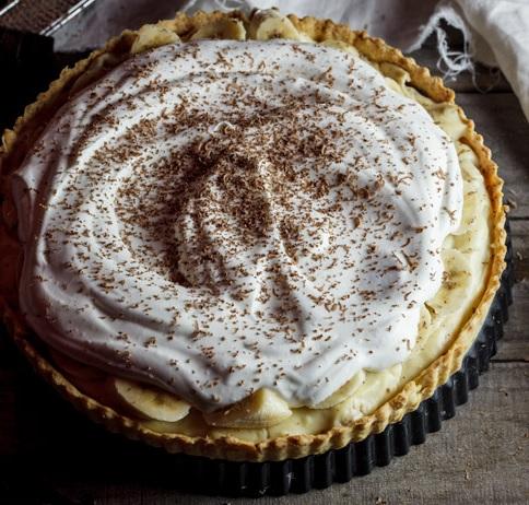 Traditional Banana Cream Pie