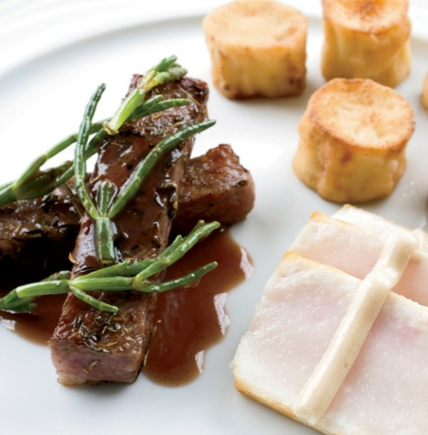 Surf And Turf: Wagyu Beef And Escolar