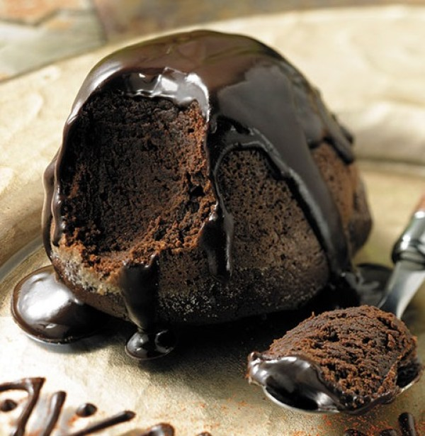 Aztec Chocolate Soufflés