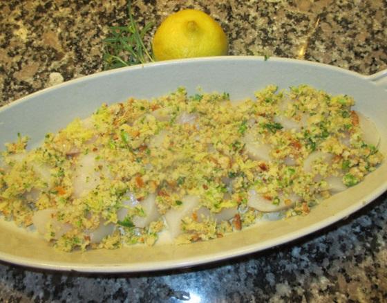 Lemon Baked Scallops