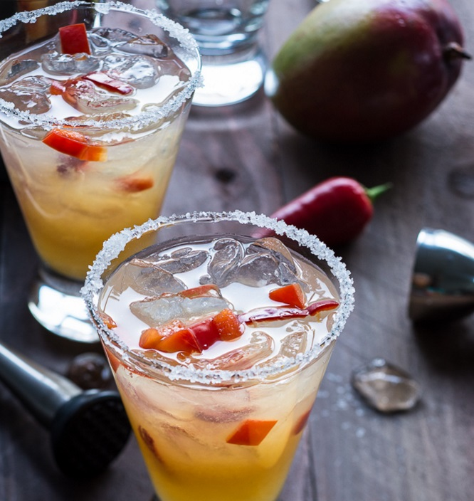 Chili Pepper Mango Margarita