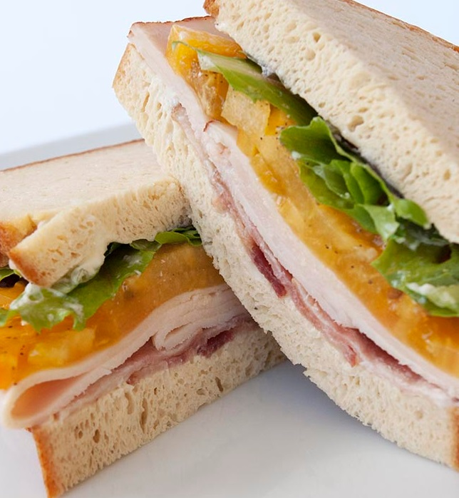 Healthy Cold Turkey Sandwich
