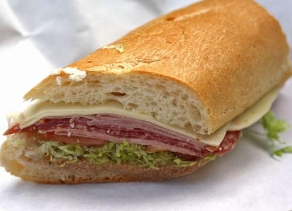 Italian Deli Submarine Sandwich