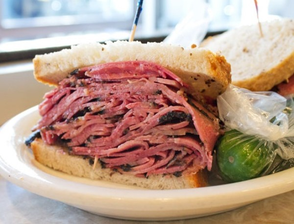 The Ultimate Pastrami Sandwich