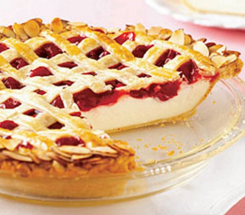 Cherry Cheesecake Pie