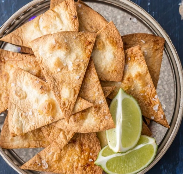Tequila Baked Tortilla Chips