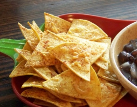 Healthy Baked Tortilla Chips