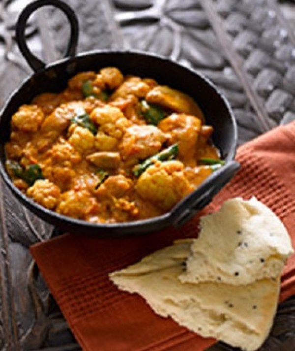 Cauliflower Chicken Curry