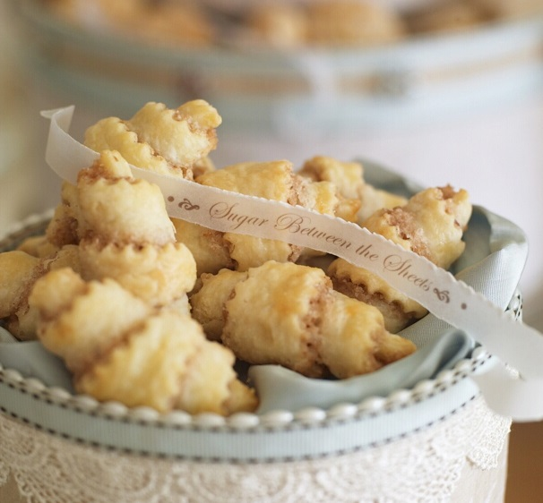 Cinnamon & Walnut Crescent Cookies