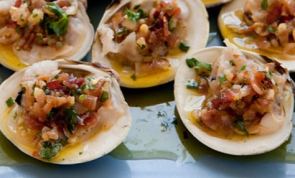 Baked Clams On The Halfshell