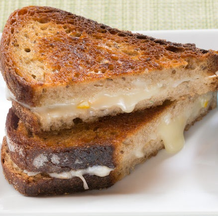 Lemon Grilled Cheese Sandwich