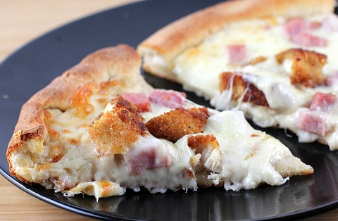 Cordon Bleu Chicken Pizza
