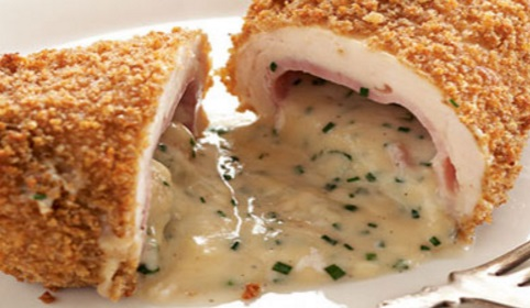 Cordon Bleu Chicken Kievs