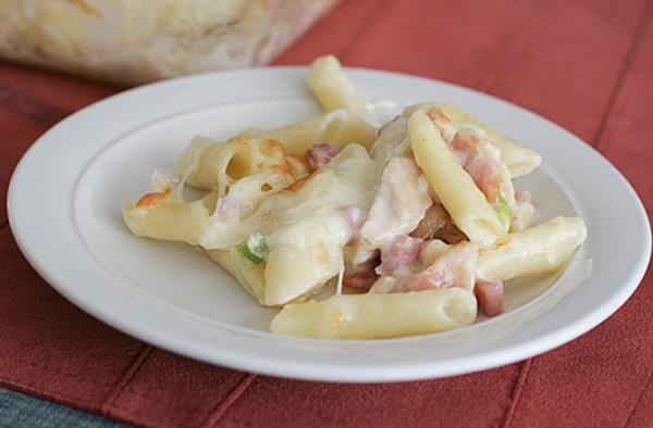 Cordon Bleu Chicken Pasta