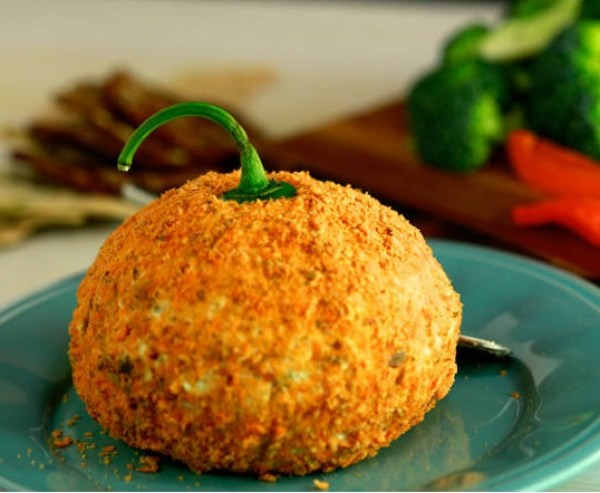 Hot & Spicy Cheese Ball