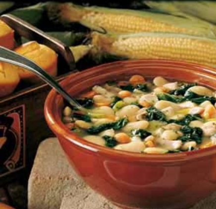 Chicken & Lima Bean Soup
