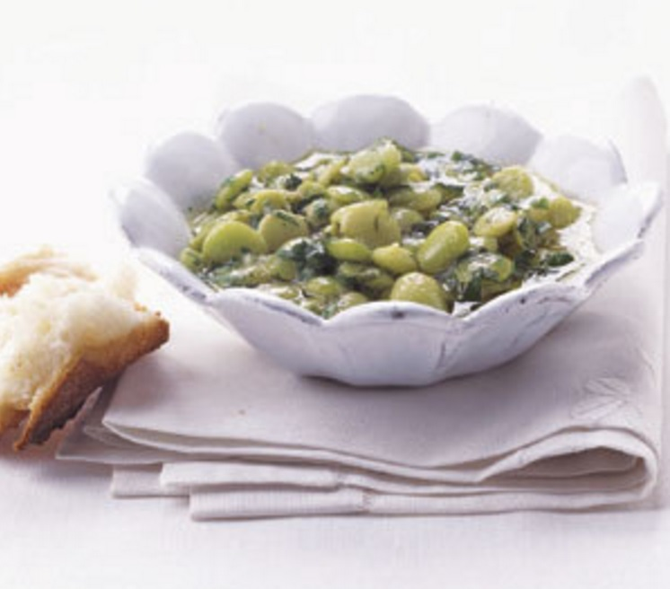 Greek-style Lima Beans