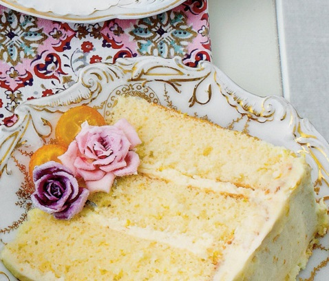 Lemon & Orange Chiffon Cake