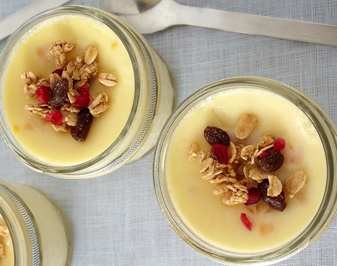 Vanilla Breakfast Pudding
