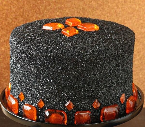 Pumpkin Butterscotch Devil's Food Cake