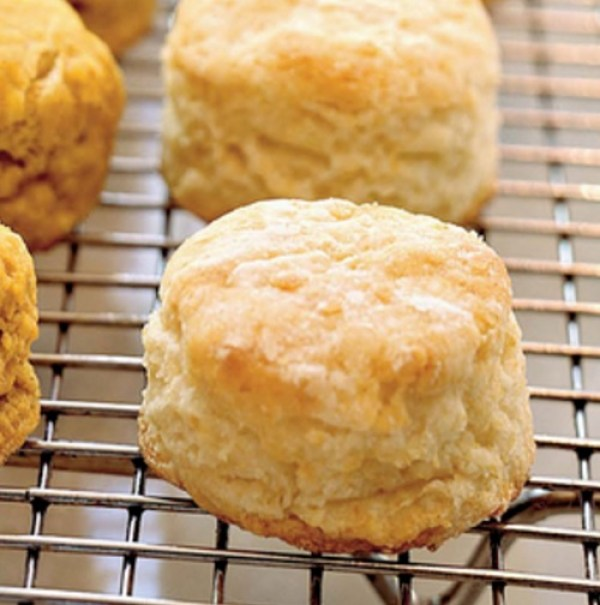 Super Flaky Buttermilk Biscuits