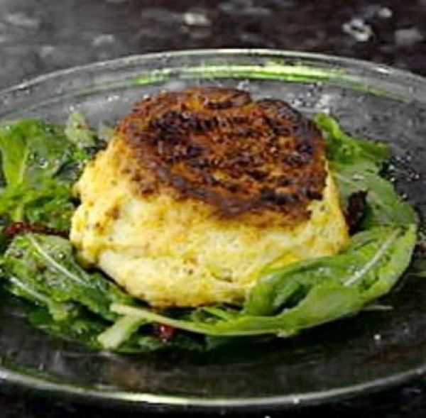 Goats Cheese Souffle