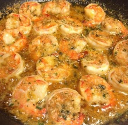 Lobster Shrimp Scampi