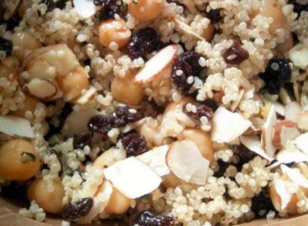 Raisin & Almond Salad