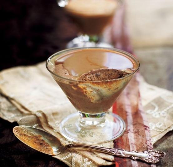 Chocolate Parfait with Irish Cream