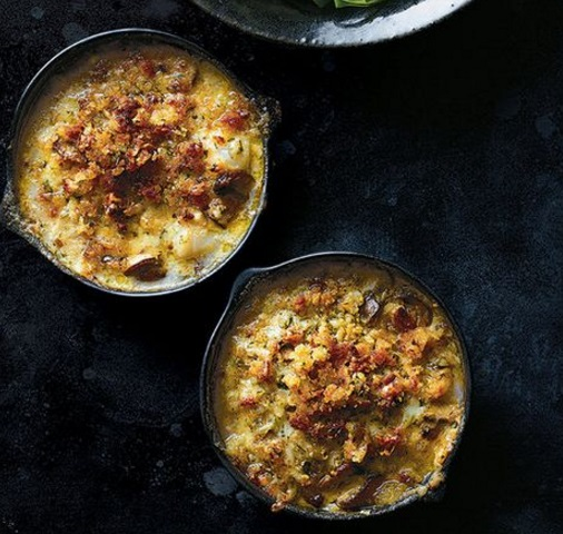 Make-Ahead Coquilles St.-Jacques