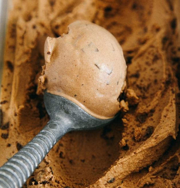 Salted Double Chocolate Ice Cream