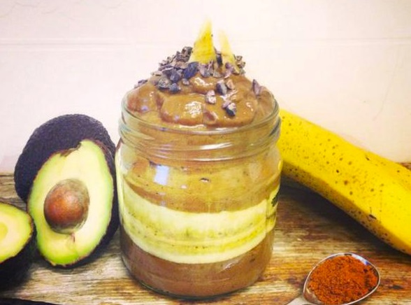 Cayenne Pepper and Chocolate Pudding